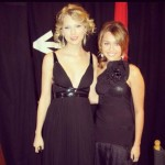 Miley Cyrus and Taylor Swift in 'Throwback Thursday' photo