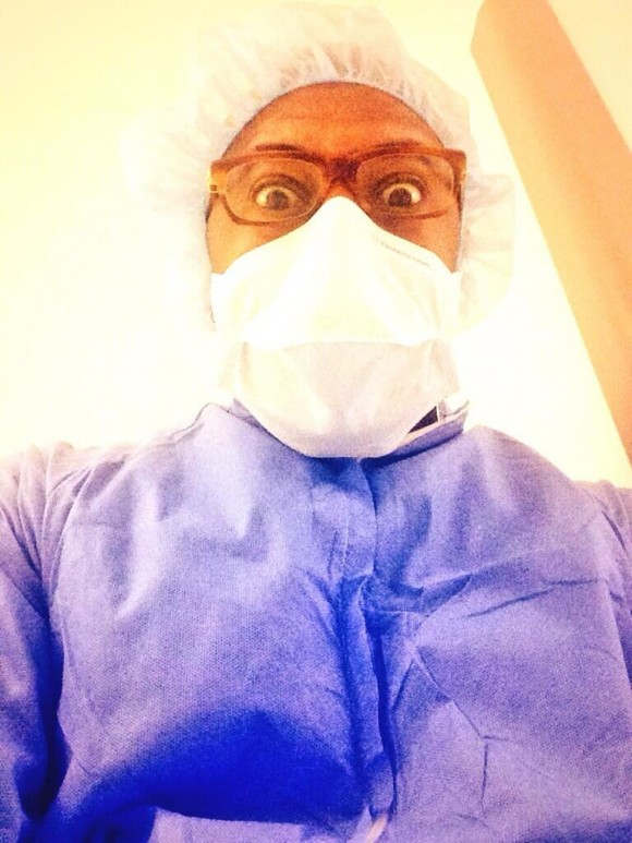 Rockmond Dunbar before daughter's birth