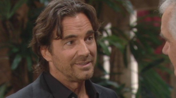 Ridge tells Eric his plans on 'The Bold and the Beautiful'