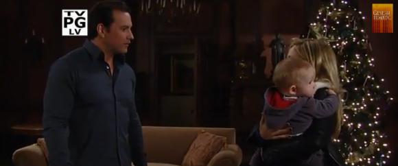 Lulu and Nikolas on 'General Hospital'