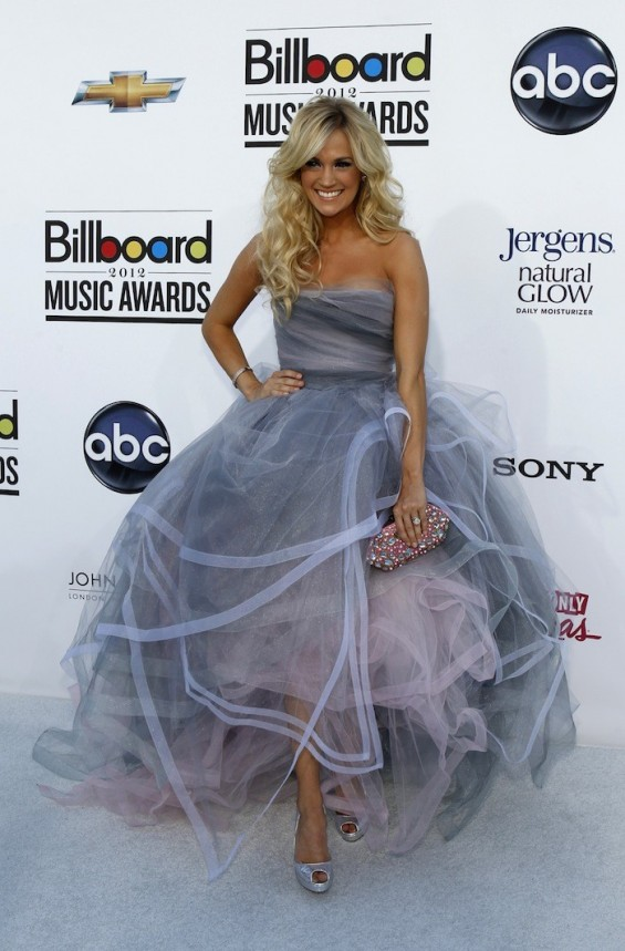 Carrie Underwood at the 2012 Billboard Music Awards