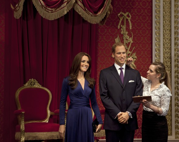 duke-and-duchess-of-cambridge-wax-figures