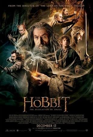 'The Hobbit: The Desolation of Smaug,' Decembr 2013; Starring Ian McKellen, Martin Freeman and Richard Armitage