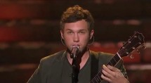 "Phillip Phillips Singing ""Home"" / YouTube Still"