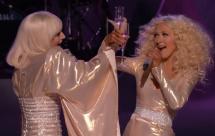 Lady Gaga Christina Aguilera