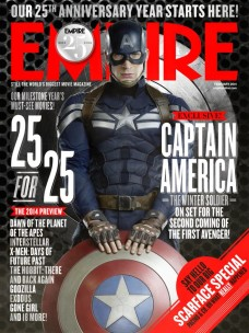 Empire Magazine Cover Featuring 'Captain America: The Winter Soldier'