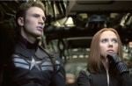 Captain America and Black Widow in 'Captain America: The Winter Soldier'