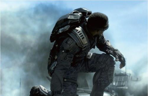 The Falcon in 'Captain America: The Winter Soldier'