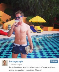 Neil Patrick Harris on vacation