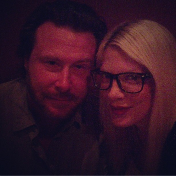 Tori Spelling and Dean McDermott, November 2013