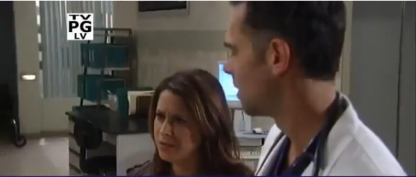 Patrick and Robin learn about Sabrina's pregnancy on 'General Hospital