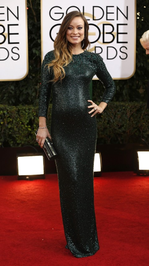 Olivia Wilde & More Baby Bumps Of 2014