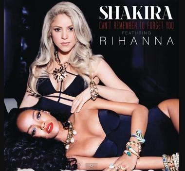 Shakira and Rihanna