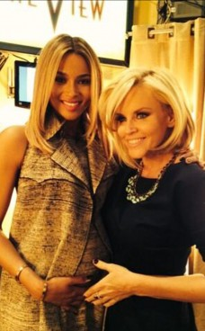 Ciara and Jenny McCarthy