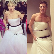 Jennifer Lawrence  and Colton Haynes