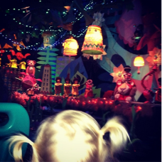 Tori Spelling Instagram Photo of Disneyland Visit