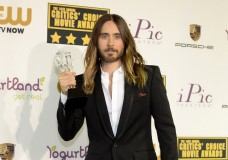 Jared Leto at Critics Choice Awards 2014