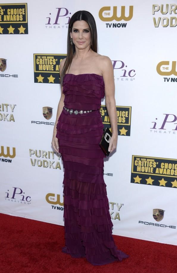 Sandra Bullock at the Critics Choice Awards 2014