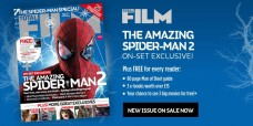 Total Film Magazine Cover hinting at Gwen Stacy's Death in special 'Amazing Spider-Man 2' issue