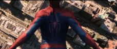 Spider-Man Descending in 'Amazing Spider-Man 2'