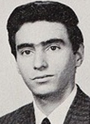 Ronald Poppo in his 1964 Stuyvesant High School yearbook photo
