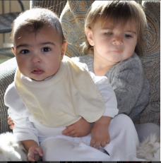 North West and Mason Disick