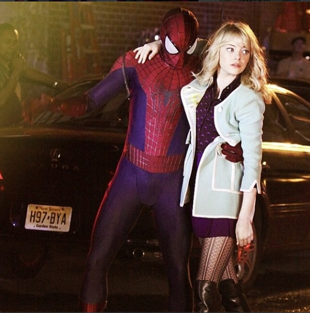 'The Amazing Spider-Man 3' Rumors: Spidey Choosing Between ... Emma Stone Instagram