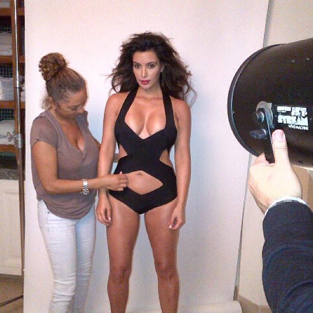 Kim Kardashian Tweets Esquire Photo Shoot Swimsuit Pic [Photos]  Celebrities  Enstarz\u200e