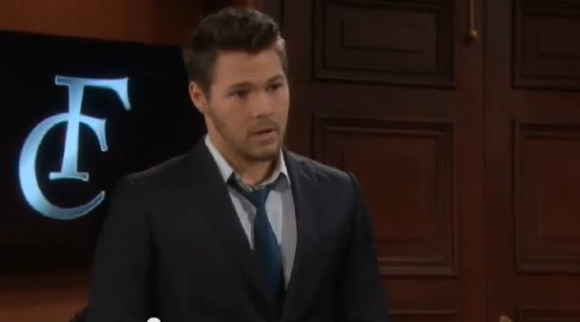 Liam gloats about his victory to Quinn on 'The bold and the beautiful'