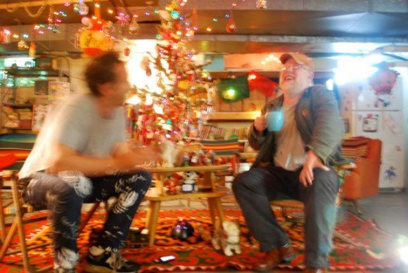Philip Seymour Hoffman and David Bar Katz in an undated photo