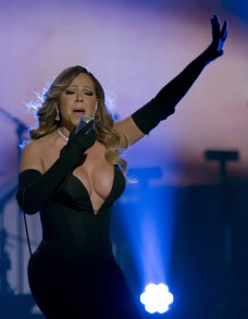 Mariah Carey At BET Honors