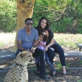 Babyface, Nicole Pantenburg and daughter Peyton in a May 2013 photo at the San Diego Zoo