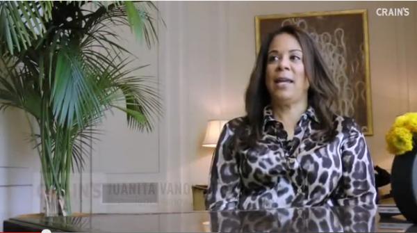 Juanita Jordan during her first interview after her divorce from NBA star Michael Jordan