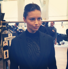 Adriana Lima WIth Makeup