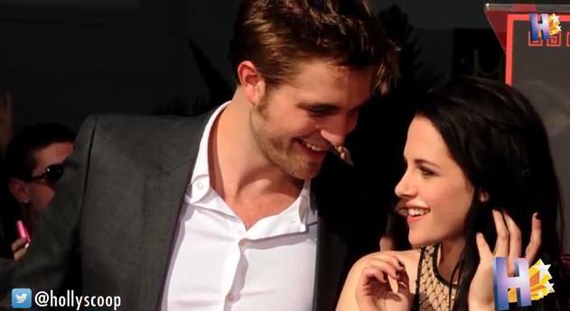 Download this Kristen Stewart And Robert Pattinson picture