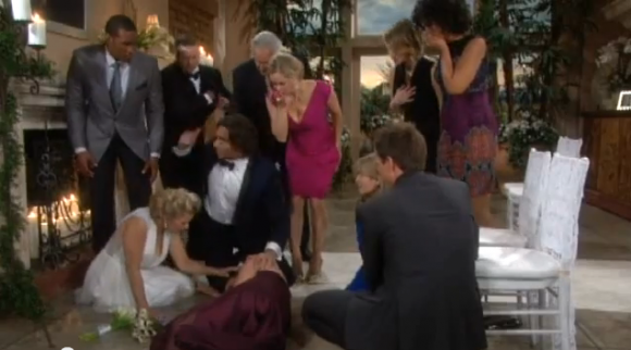 "Ridge takes control after Katie faints on ""The Bold and The Beautiful'"