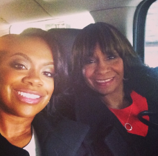 Kandi Burruss and Mama Joyce Photos