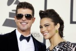 Robin Thicke and actress Paula Patton