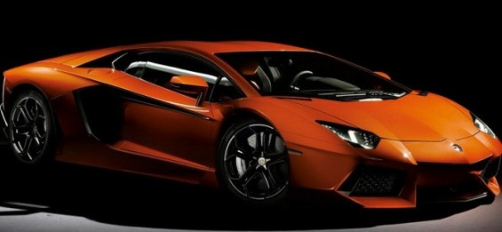 Kim Kardashian puchased a Lamborghini Aventador like this but in black for Kanye West.