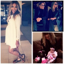 Ciara Baby Bump News!; Mom-To-Be Glows in Instagram Pics Featuring Rumored Baby Boy [PHOTO]