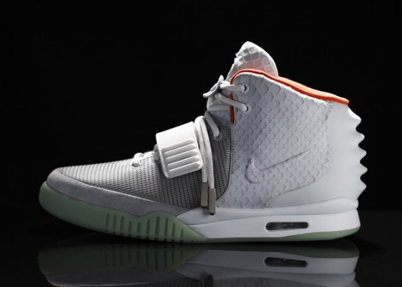 Nike Air Yeezy II by Kanye West. The shows were launched on June 9.