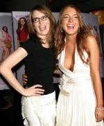 Lindsay Lohan and Tina Fey