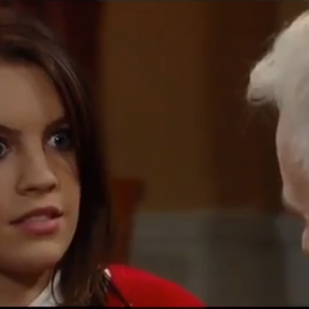 Luke scares Kiki on 'General Hospital'