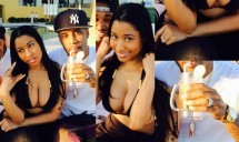 Nicki Minaj Married?; New Pictures Show Matching Bands for She and Boyfriend Safaree [PHOTOS]