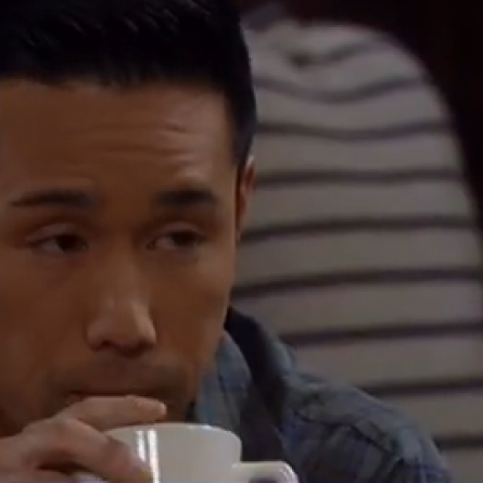 Brad reacts to Lucas' suggestion that they see where their feelings take them on 'General Hospital'