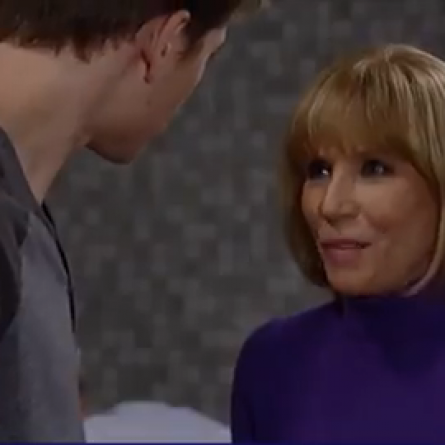 Monica informs Michael that A.J. is Awake on 'General Hospital'