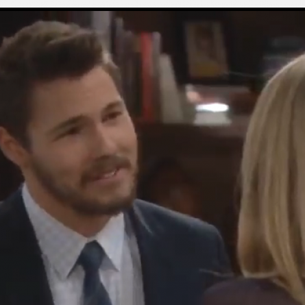 Liam meets up with Hope on 'The Bold and the Beautiful' and tells her that her line is getting a tribute