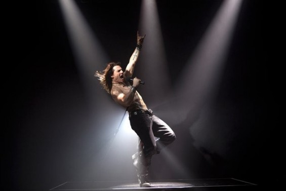 Tom Cruise in Warner Bros. Pictures' Rock of Ages