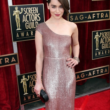 Emilia Clarke at the 2014 SAG Awards