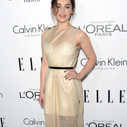 Emilia Clarke at Elle's 20th Annual Women in Hollywood Bash